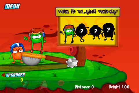 Screenshot iCreature Catapult
