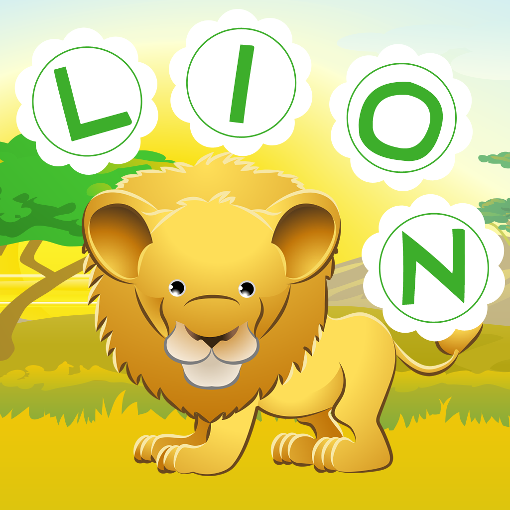ABC safari games for children: Train your word spelling skills of wild animals for kindergarten and pre-school